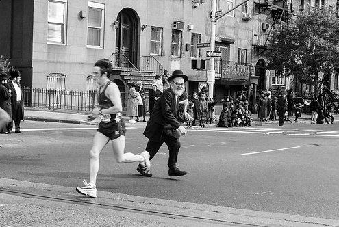 New York, Marathon #2  By Jacob Elbaz
