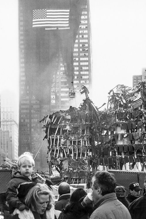 New York, 9 / 11,The Disaster #28  By Jacob Elbaz