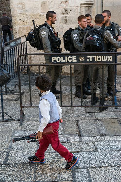 Jerusalem, Everyday life #130  By Jacob Elbaz