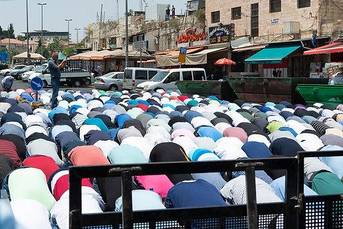 Jerusalem, Praying #7  By Jacob Elbaz
