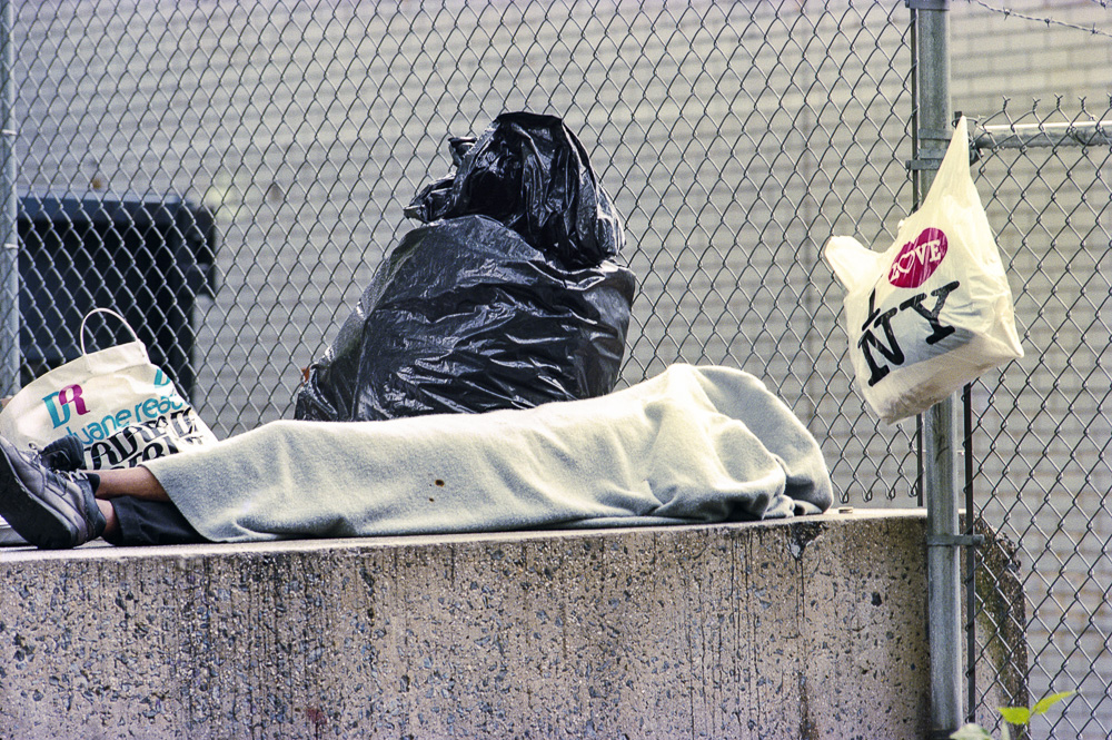 New York, Homeless #5  By Jacob Elbaz