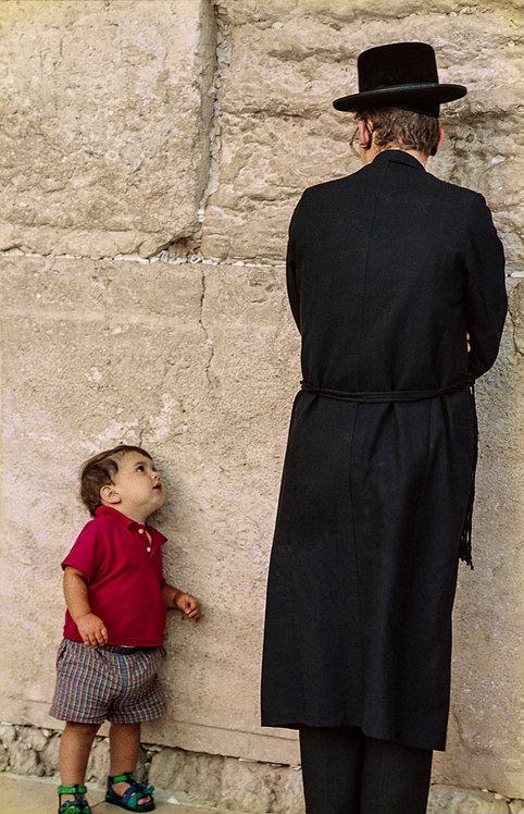 Jerusalem, Curiosity of a child  By Jacob Elbaz