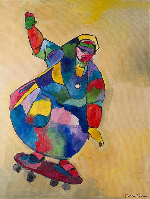 Skateboard By Doron Adorian