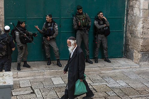 Jerusalem, Everyday life #45  By Jacob Elbaz