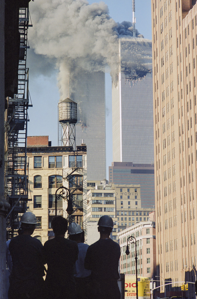 New York, 9 / 11,The Disaster #22  By Jacob Elbaz
