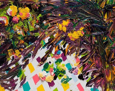Flowers and diamonds By Miri Eitan Sadeh