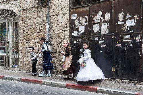 Jerusalem, Purim #2  By Jacob Elbaz