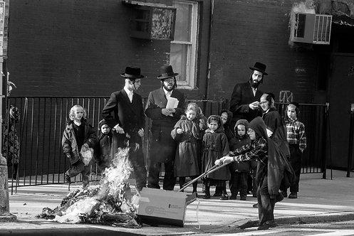 New York, Burning #3  By Jacob Elbaz