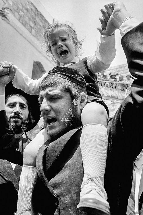 Jerusalem, Faces #8  By Jacob Elbaz