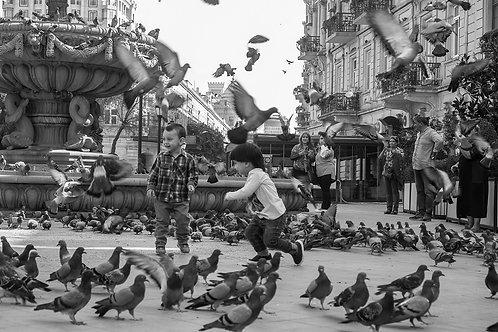 Playing, Baku Azerbaijan