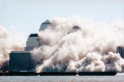 New York, 9 / 11,The Disaster #36  By Jacob Elbaz