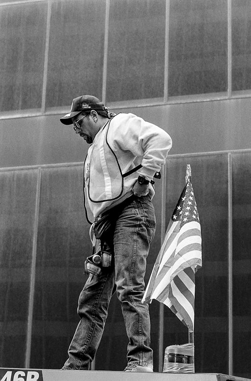 New York, 9 / 11,The Disaster #51  By Jacob Elbaz