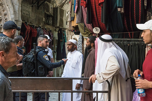 Jerusalem, Everyday life #117  By Jacob Elbaz