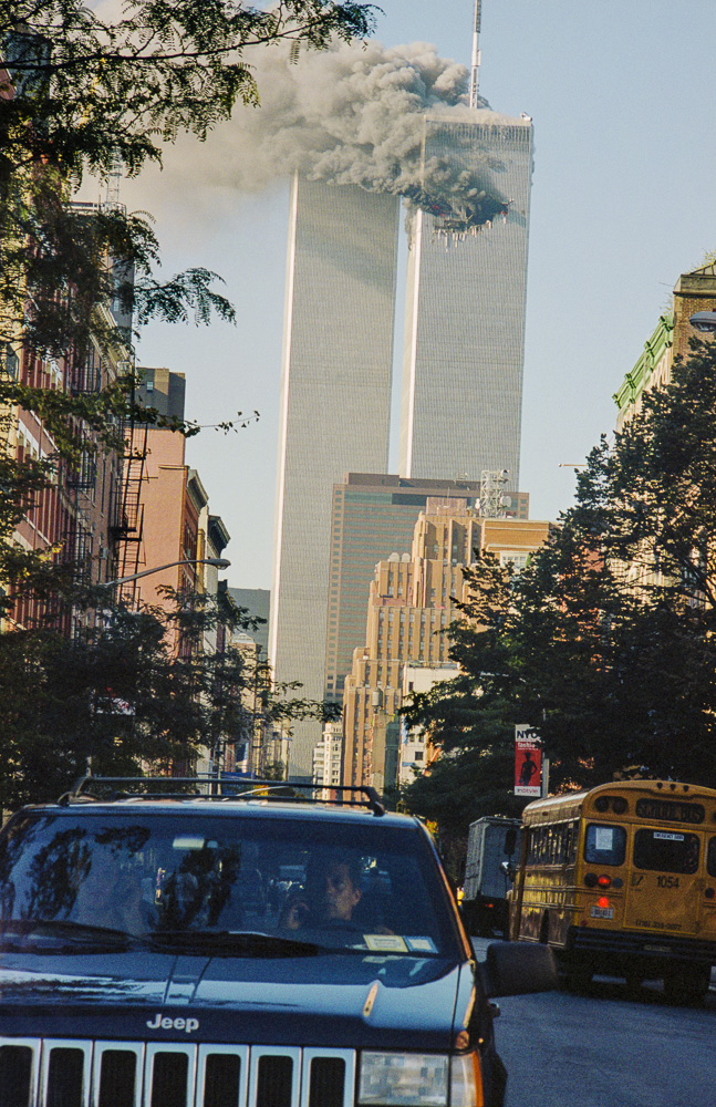 New York, 9 / 11,The Disaster #17  By Jacob Elbaz