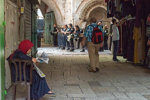 Jerusalem, Everyday life #109  By Jacob Elbaz