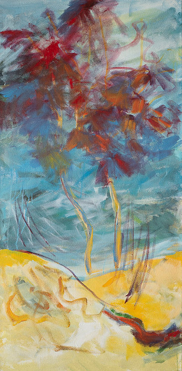 Red tree By Ruthy Segal