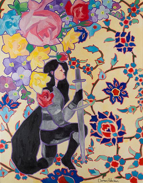 Lady knight By Doron Adorian
