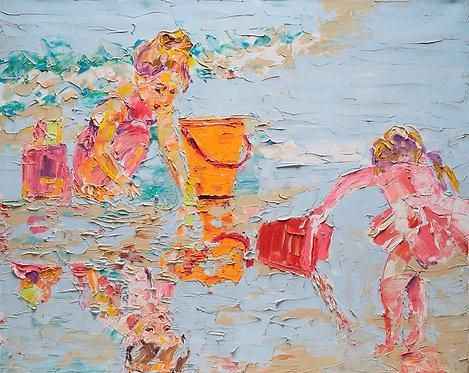 Girls at sea By Miri Eitan Sadeh