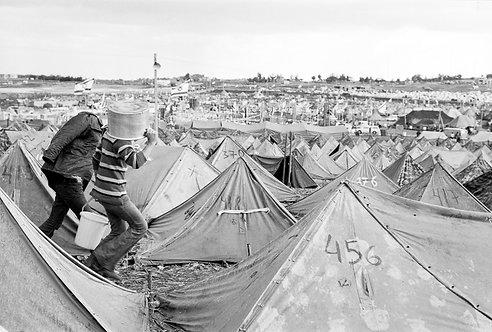 Israel, Refugees #2  By Jacob Elbaz