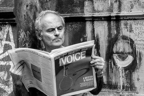 New York, Reading the voice  By Jacob Elbaz