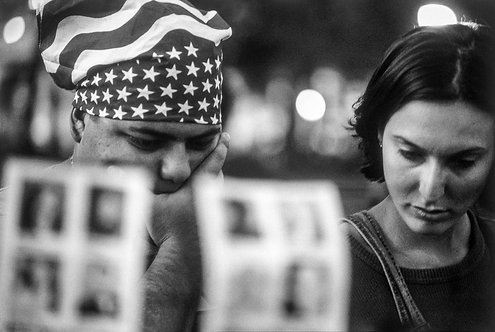 New York, 9 / 11,The Missing #23  By Jacob Elbaz