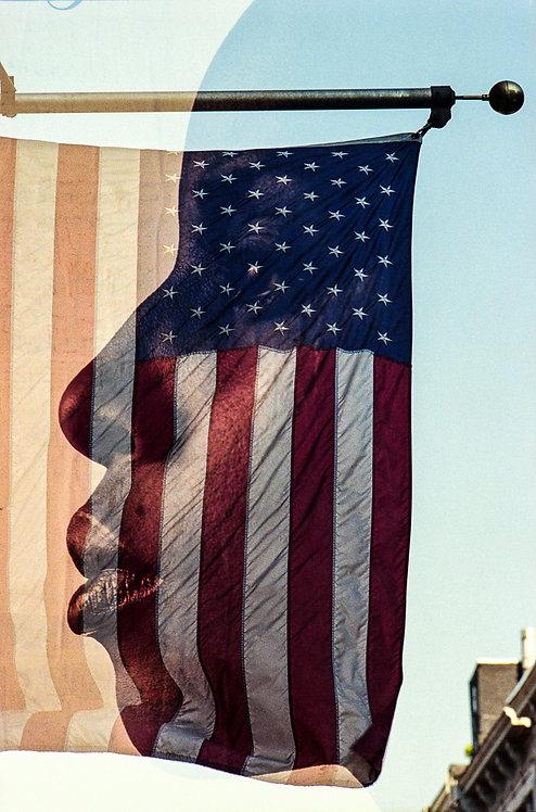 New York, The Flag #2  By Jacob Elbaz