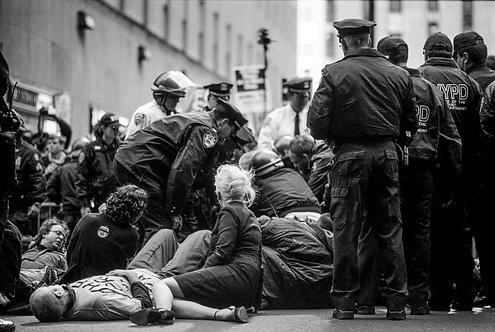 New York, Protest #18  By Jacob Elbaz
