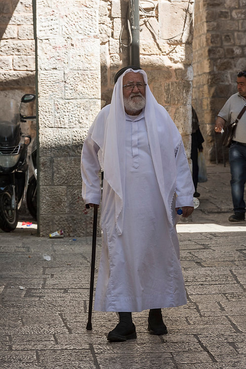 Jerusalem, Characters #26  By Jacob Elbaz