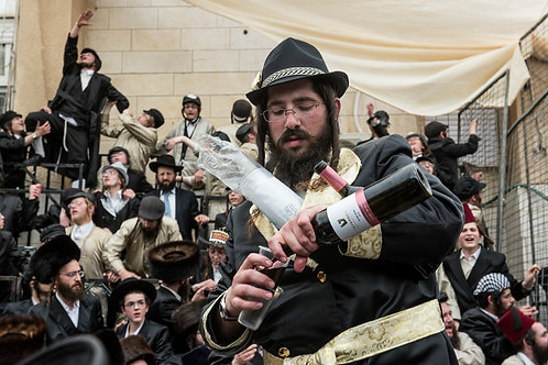 Jerusalem, Orthodox-Jews #2  By Jacob Elbaz