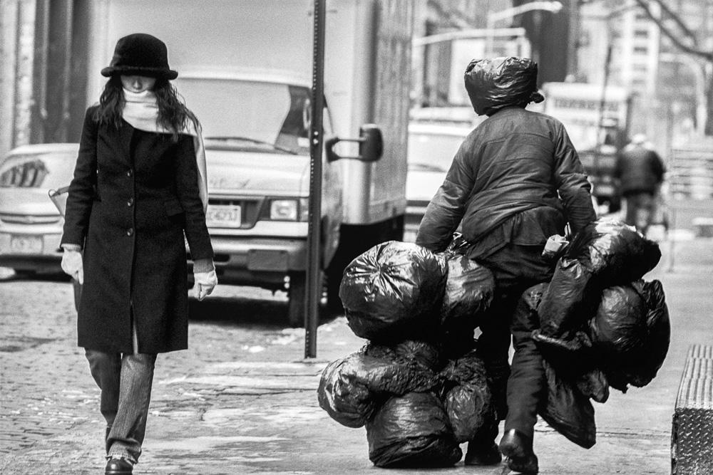 New York, Garbage #6  By Jacob Elbaz