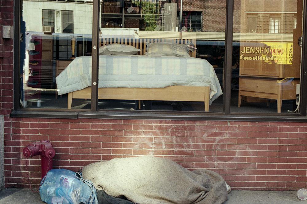 New York, Poverty #1  By Jacob Elbaz