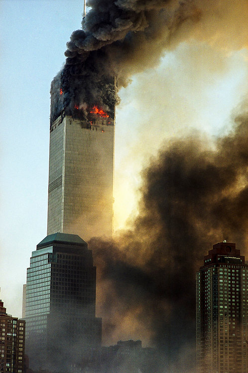 New York, 9 / 11,The Disaster #10  By Jacob Elbaz