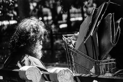 New York, Poverty #8  By Jacob Elbaz