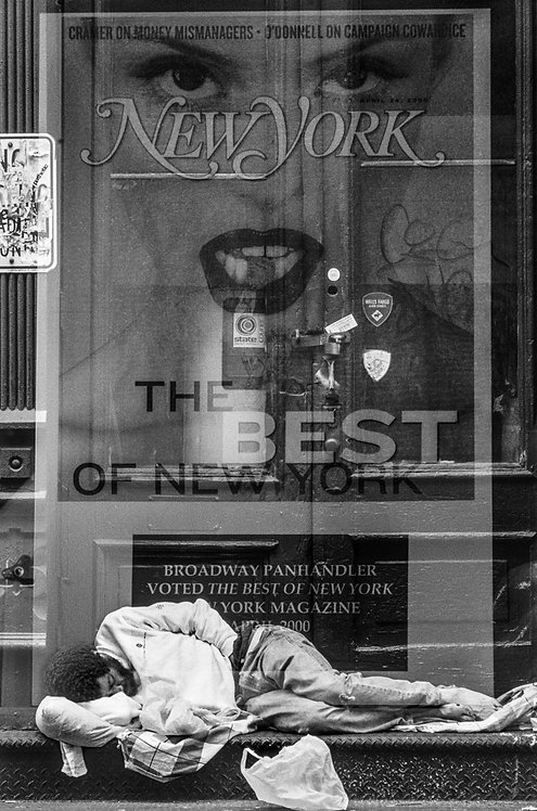 New York, Homeless #4  By Jacob Elbaz