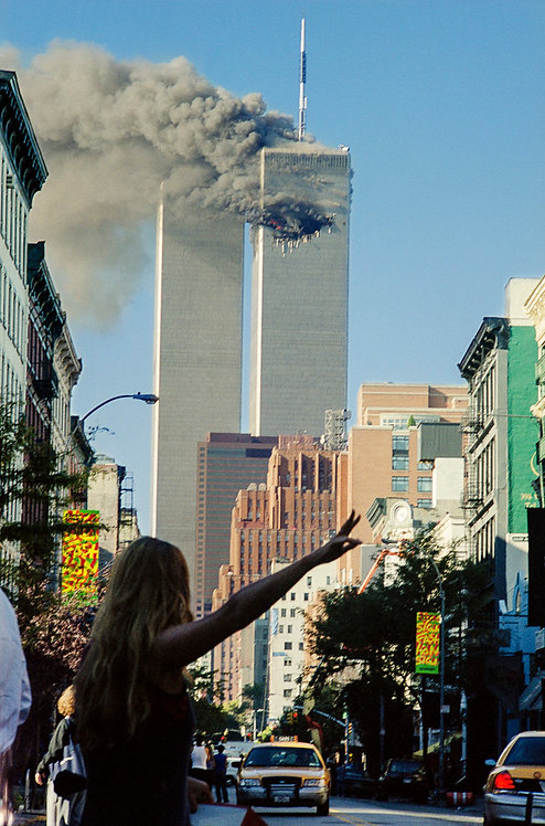 New York, 9 / 11,The Disaster #8  By Jacob Elbaz