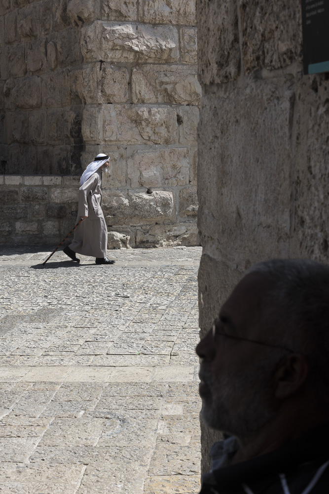 Jerusalem, An Arab among the walls