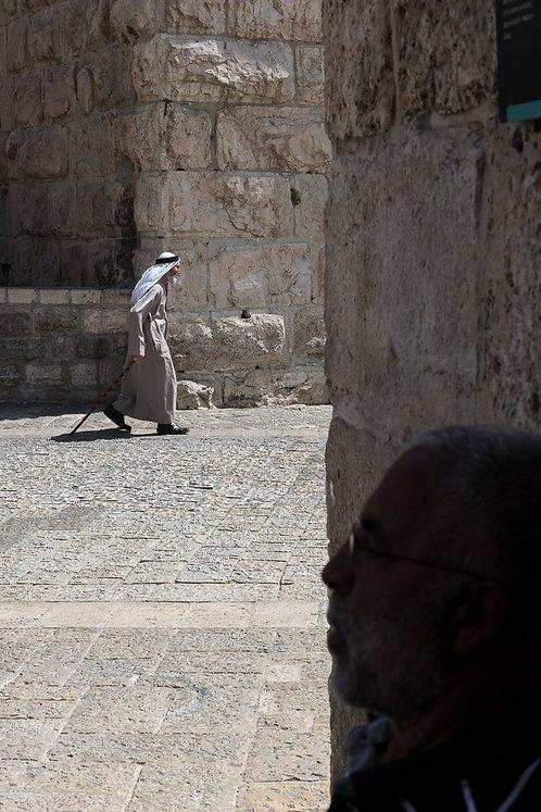 Jerusalem, An Arab among the walls  By Jacob Elbaz
