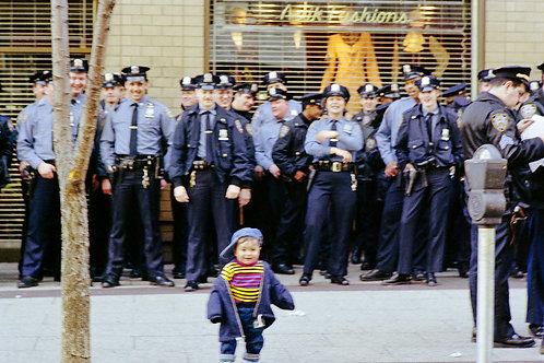 New York, Protest #7  By Jacob Elbaz