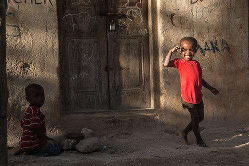 A smile, Zanzibar