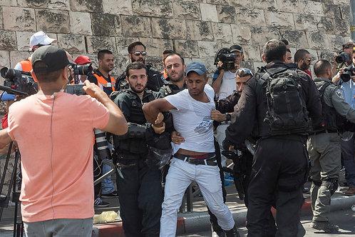 Jerusalem, Protest #1  By Jacob Elbaz