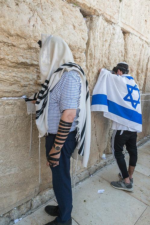 Jerusalem, Israeli Flag #2  By Jacob Elbaz