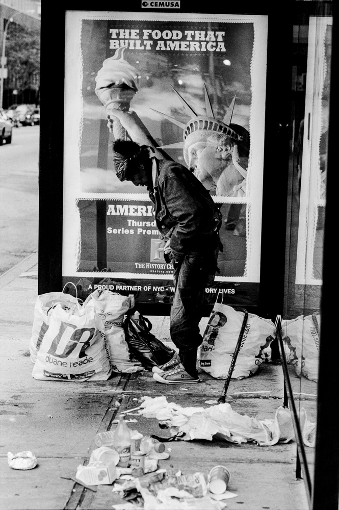 New York, Homeless #3  By Jacob Elbaz