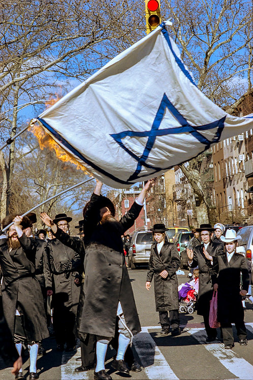 New York, Burning of the Israeli flag #12