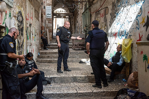 Jerusalem, Everyday life #105  By Jacob Elbaz