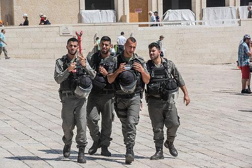 Jerusalem, Soldiers #1  By Jacob Elbaz