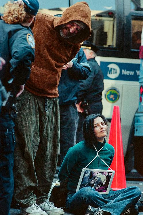 New York, Protest #6  By Jacob Elbaz