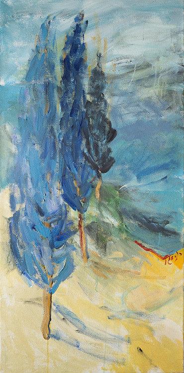 Blue tree By Ruthy Segal