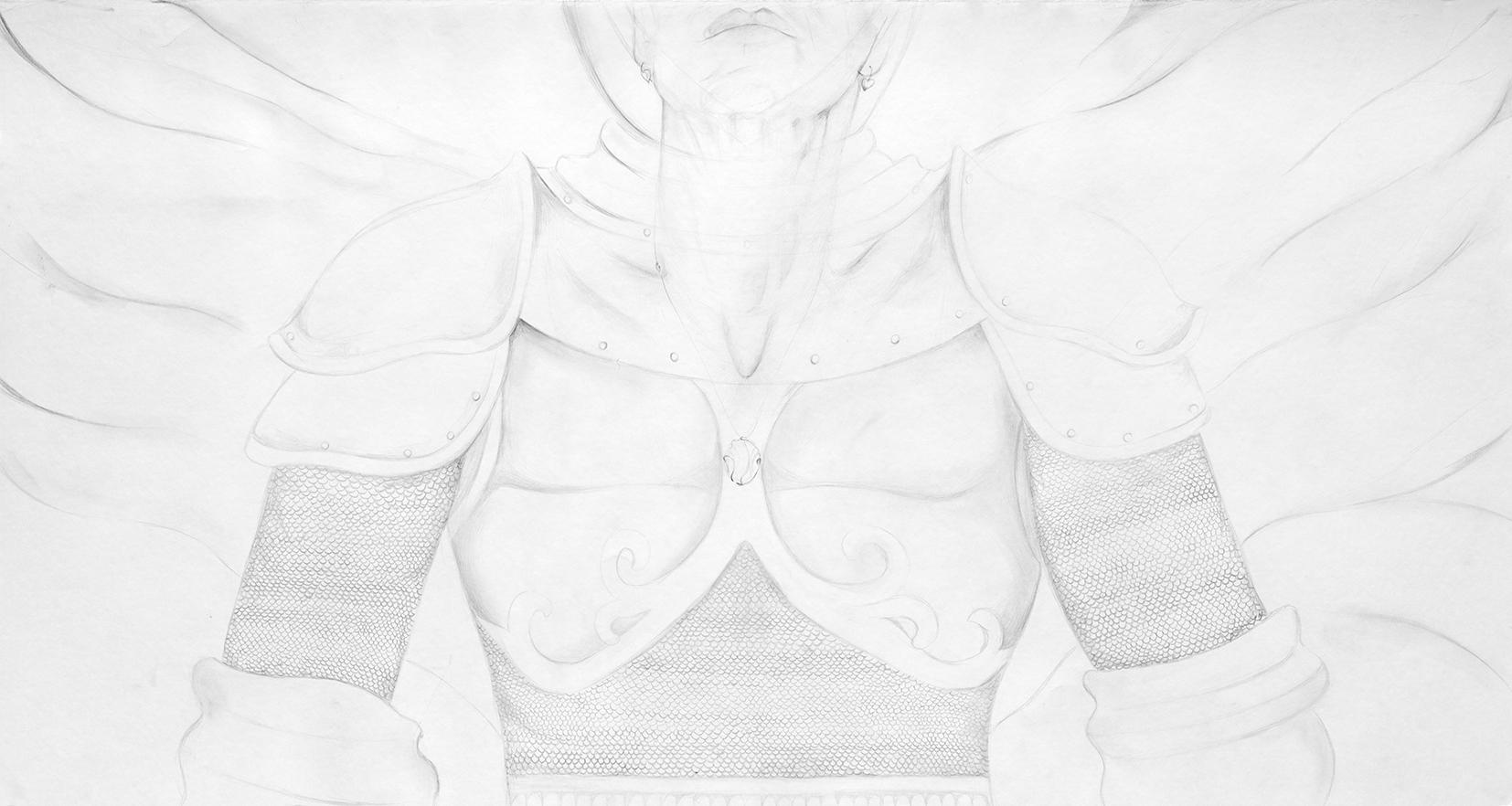 Under armored wings #5 By Nurit Barak kachtan