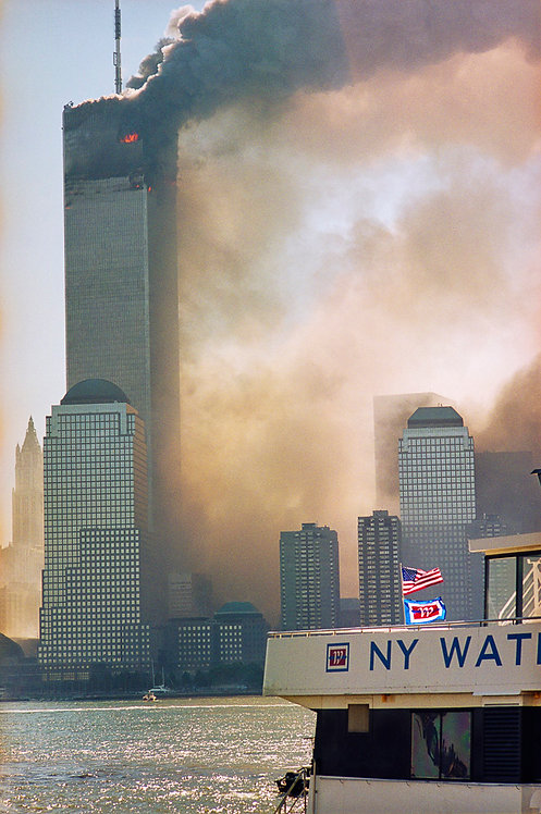 New York, 9 / 11,The Disaster #13  By Jacob Elbaz