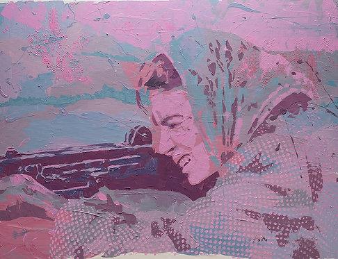 Taking aim #2 by  Moshe Ben Avraham